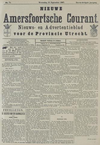 Nieuwe Amersfoortsche Courant 1907-09-18