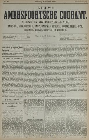 Nieuwe Amersfoortsche Courant 1884-02-09