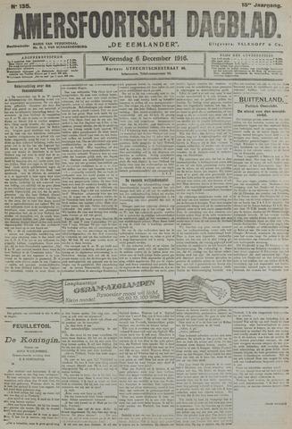 Amersfoortsch Dagblad / De Eemlander 1916-12-06