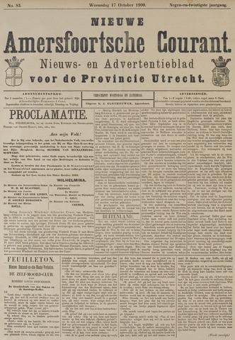 Nieuwe Amersfoortsche Courant 1900-10-17