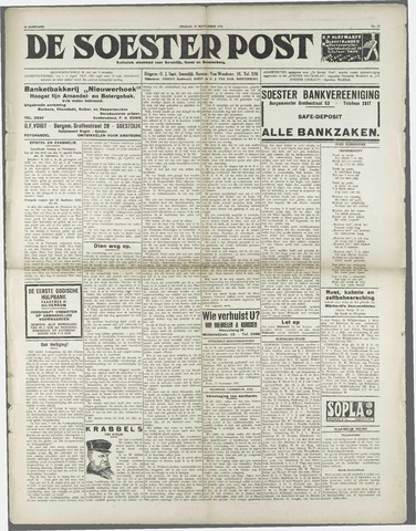 Soester Courant 1931-09-18