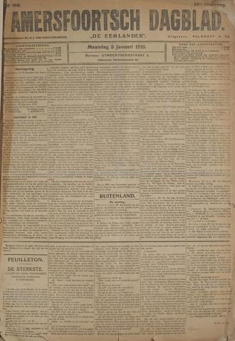 Amersfoortsch Dagblad / De Eemlander 1916-01-03