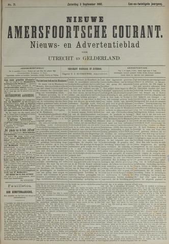 Nieuwe Amersfoortsche Courant 1892-09-03