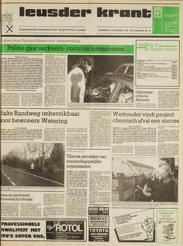 Leusder Krant 1988-11-10