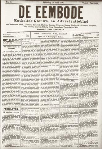 De Eembode 1896-06-13