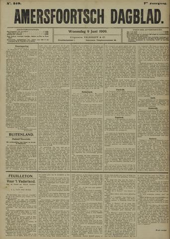 Amersfoortsch Dagblad 1909-06-09