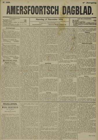 Amersfoortsch Dagblad 1904-11-21