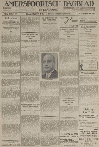 Amersfoortsch Dagblad / De Eemlander 1934-03-09