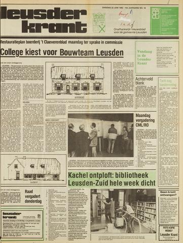 Leusder Krant 1982-06-22