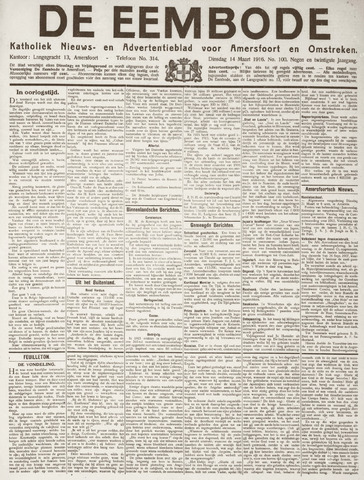 De Eembode 1916-03-14