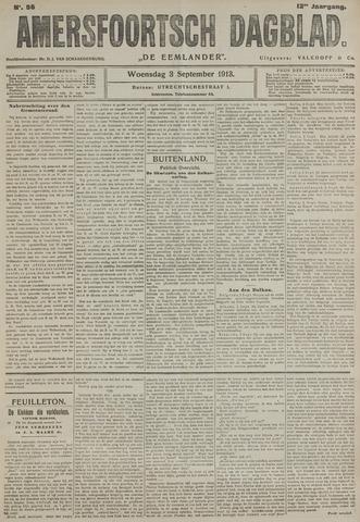 Amersfoortsch Dagblad / De Eemlander 1913-09-03