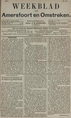 Weekblad voor Amersfoort en Omstreken 1872-09-14