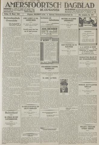 Amersfoortsch Dagblad / De Eemlander 1931-03-20