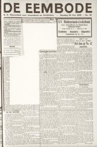 De Eembode 1922-10-24