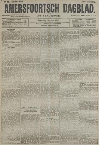 Amersfoortsch Dagblad / De Eemlander 1916-07-29