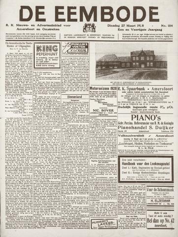 De Eembode 1928-03-27
