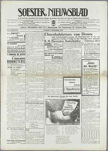 Soester Courant 1938-12-02