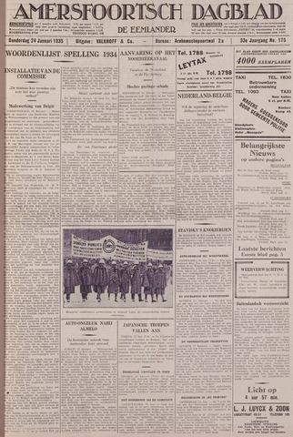 Amersfoortsch Dagblad / De Eemlander 1935-01-24