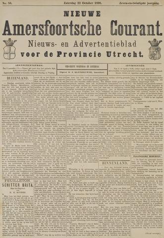 Nieuwe Amersfoortsche Courant 1898-10-22