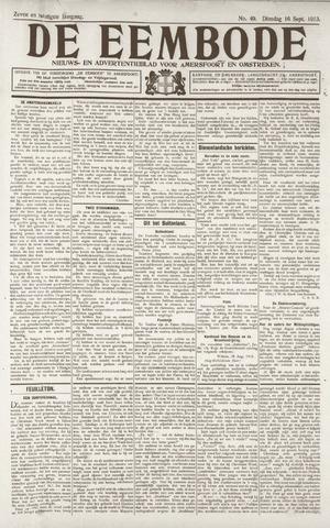 De Eembode 1913-09-16