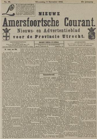 Nieuwe Amersfoortsche Courant 1916-11-08