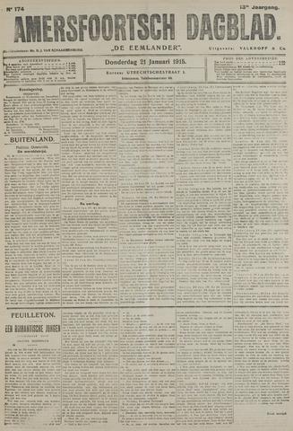 Amersfoortsch Dagblad / De Eemlander 1915-01-21