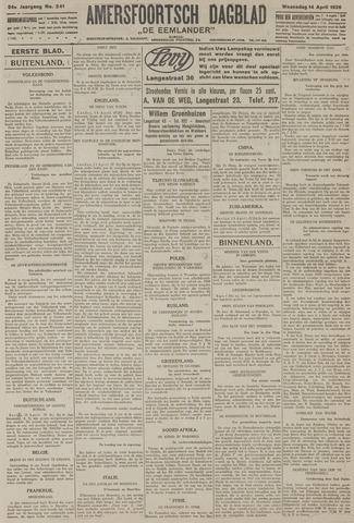 Amersfoortsch Dagblad / De Eemlander 1926-04-14