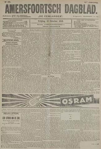 Amersfoortsch Dagblad / De Eemlander 1916-10-13