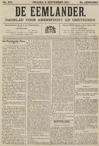 De Eemlander 1911-09-08
