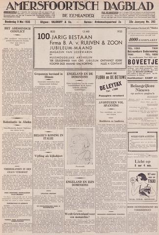 Amersfoortsch Dagblad / De Eemlander 1935-05-09