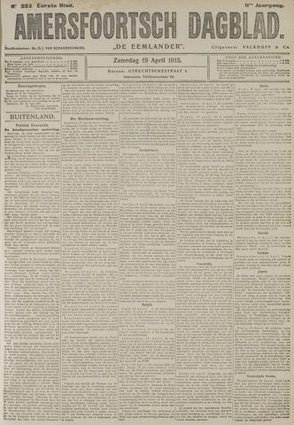 Amersfoortsch Dagblad / De Eemlander 1913-04-19