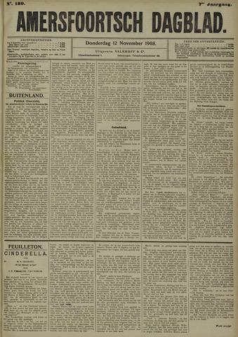 Amersfoortsch Dagblad 1908-11-12