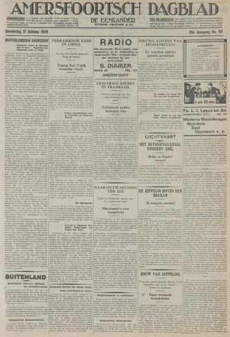 Amersfoortsch Dagblad / De Eemlander 1929-10-17