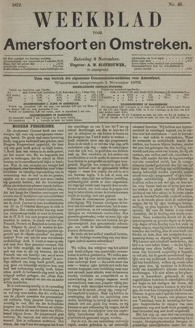 Weekblad voor Amersfoort en Omstreken 1872-11-09