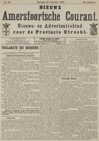 Nieuwe Amersfoortsche Courant 1918-11-16
