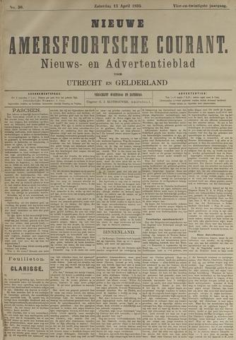 Nieuwe Amersfoortsche Courant 1895-04-13