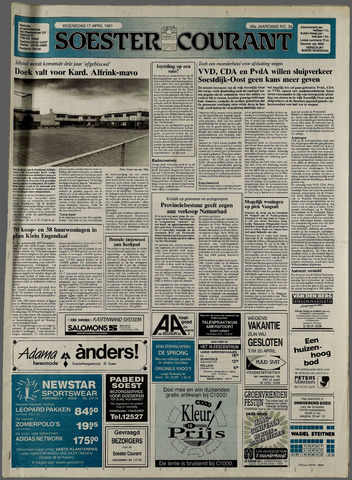 Soester Courant 1991-04-17