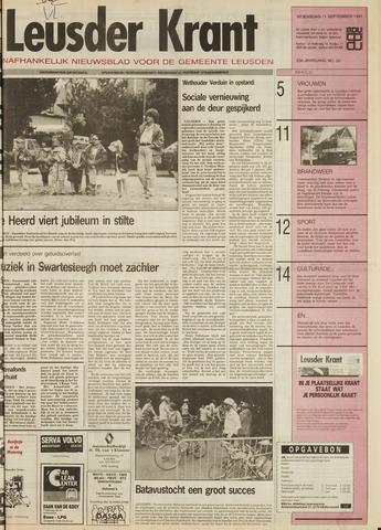 Leusder Krant 1991-09-11