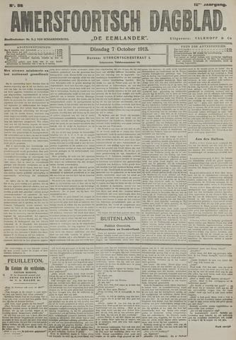 Amersfoortsch Dagblad / De Eemlander 1913-10-07