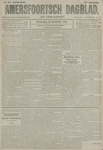 Amersfoortsch Dagblad / De Eemlander 1913-12-31