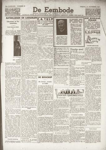 De Eembode 1938-11-25
