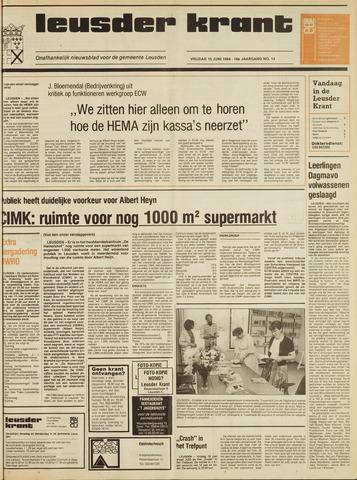 Leusder Krant 1984-06-15
