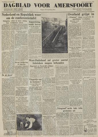 Dagblad voor Amersfoort 1949-04-14