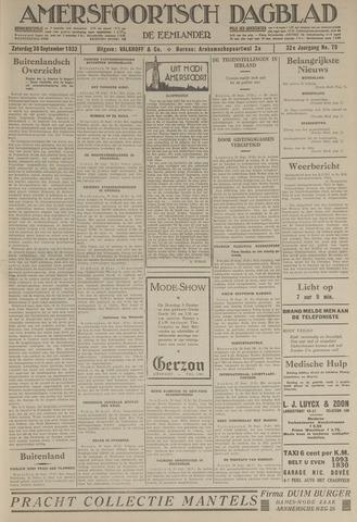 Amersfoortsch Dagblad / De Eemlander 1933-09-30