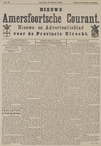 Nieuwe Amersfoortsche Courant 1910-10-22