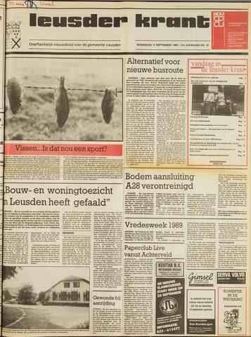 Leusder Krant 1989-09-13