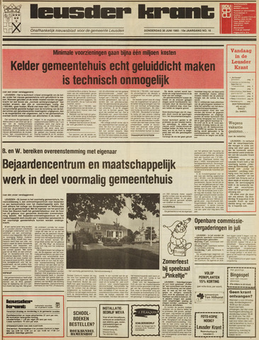 Leusder Krant 1983-06-30