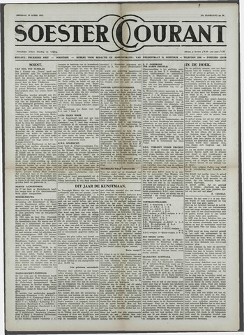Soester Courant 1957-04-16