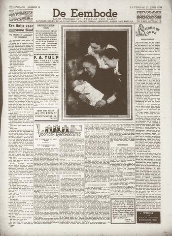 De Eembode 1938-06-25