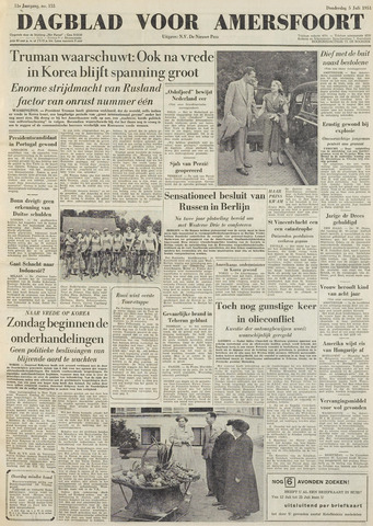 Dagblad voor Amersfoort 1951-07-05